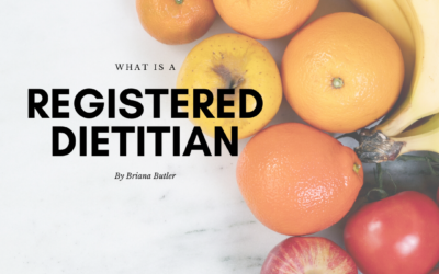 What is a Registered Dietitian?