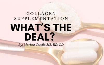 Collagen Supplementation, What's the Deal?